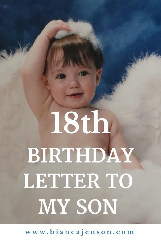18th birthday letter