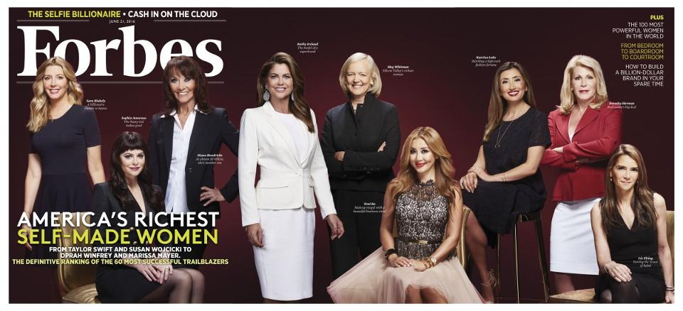 Forbes Self Made Women
